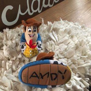 Disney's Sheriff Woody slippers